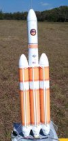 Real Space Rockets Delta IV Heavy