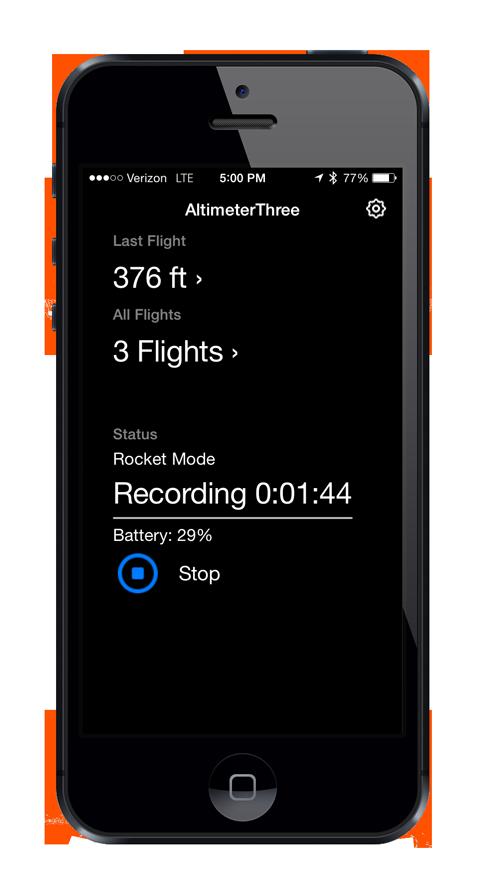 App Main Screen