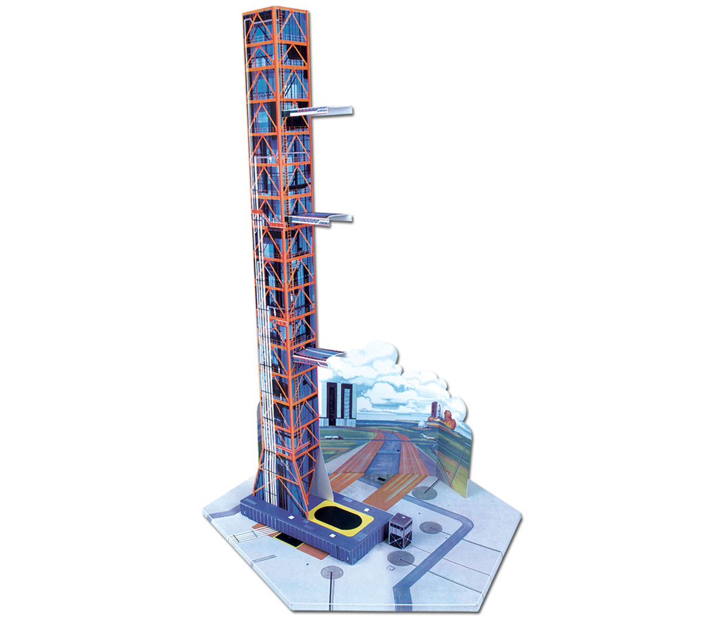 Display launch tower set included!