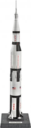1:144 Apollo Saturn V Rocket Plastic Model